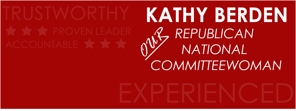 Kathy Berden banner thing